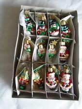 "28047 /""Mini Pumpkins/"" Set of 2 X Old World Christmas Glass Ornaments w//OWC Bx"