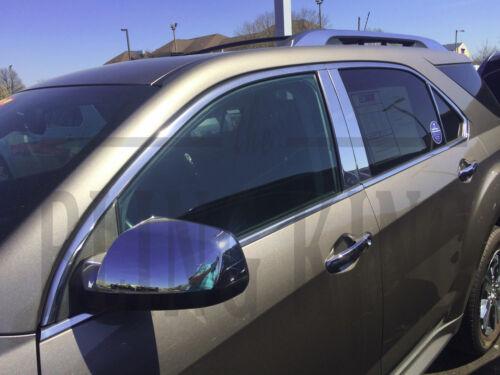2010-2017 Chevy Equinox chrome door handle mirror cover trim moldings