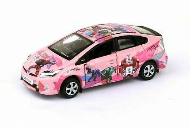 TINY HONG KONG CITY 81 Toyota Prius TVBUDDY CAR TVB NEW DIECAST CAR Pinky