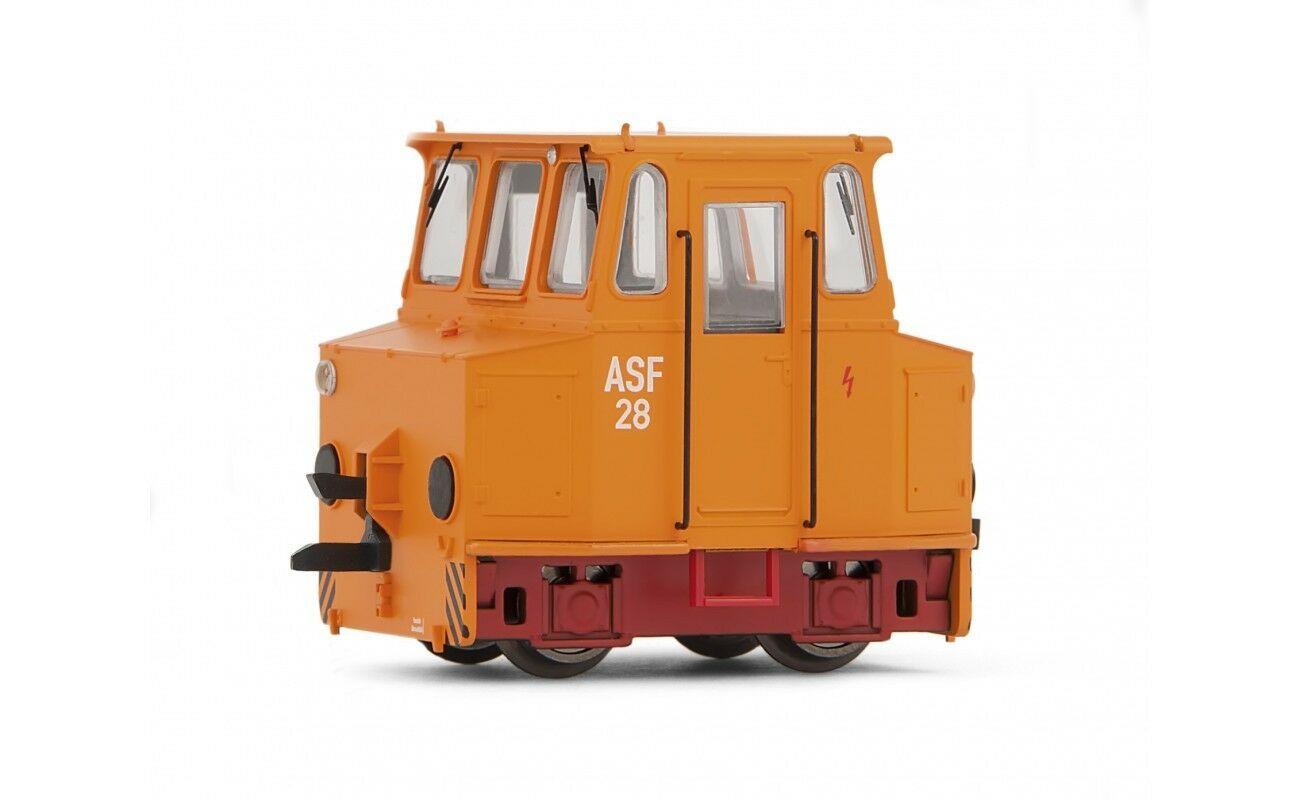 TT Akkuschleppfahrzeug ASF 28 Orange mit rotem Fahrwerk DR Ep.IV Arnold 9038 NEU  | Neu