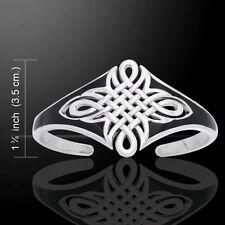 Celtic Maori .925 Sterling Silver Bangle Bracelet by Peter Stone