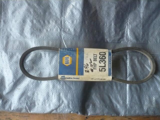 NAPA AUTOMOTIVE 5L360 Replacement Belt