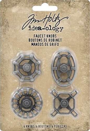 Idea-Ology Metal Faucet Knobs 4//Pkg  040861936773