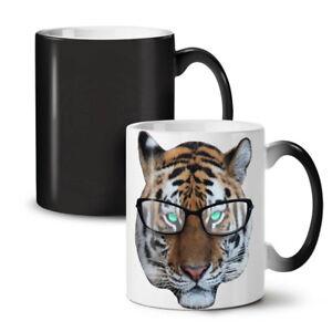 Tiger Hippie Wild NEW Colour Changing Tea Coffee Mug 11 oz | Wellcoda