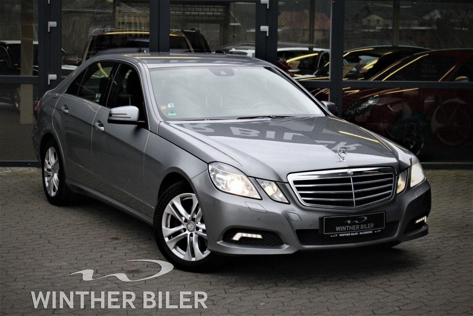 Mercedes E350 3,0 CDi aut. BE 4d