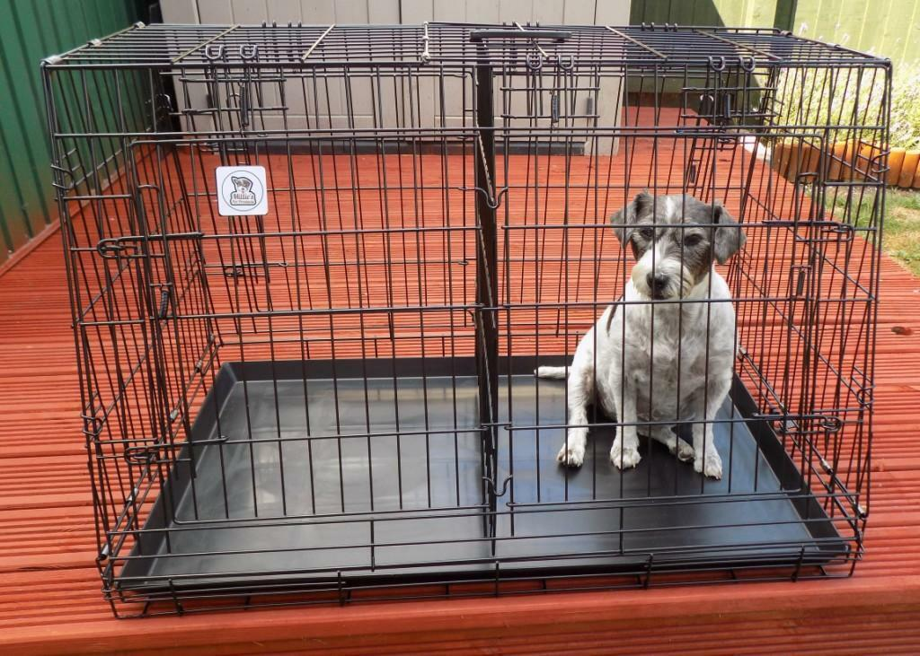 36 inch & 30inch  CAR BOOT SLOPING DOG CAGES, FOR DOG   PUPPY ETC,, 4 DOORS,