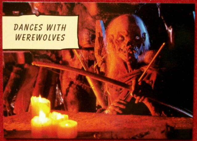 TALES FROM THE CRYPT - Card #014 - DANCES WITH WEREWOLVES - CARDZ 1993