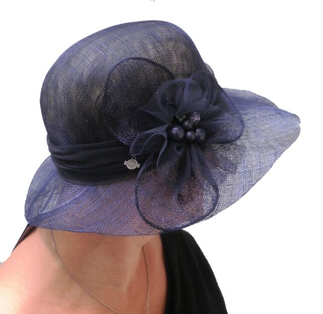 6e12803519a09 Sombrero Mujer para eventos selección de color Seeberger BODA Dama Ascot  festivo