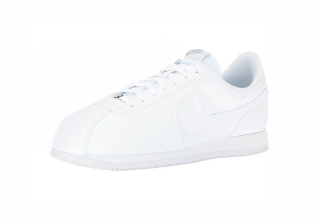 pretty nice 256d6 8b1f9 Nike Cortez Basic Leather 819719-110 White Mens US Size 9 UK 8