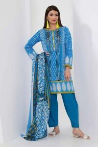 100 Dress Design Unstiched Suit Khaadi Original 4pc 2018 Lawn 6wS8wnYpq
