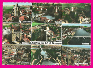 CPSM-47-Lote-y-Garonne-Postal-varias-vistas