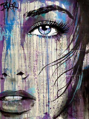 "ART PRINT POSTER 11/"" x 14/"" 570 JOVER LOUI RAINY DAY RENDEZVOUS"