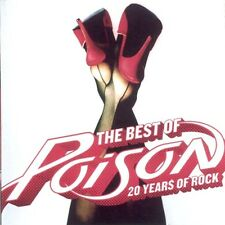 The Best Of Poison 20 Years Of Rock - Poison CD Sealed ! New !  Greatest Hits
