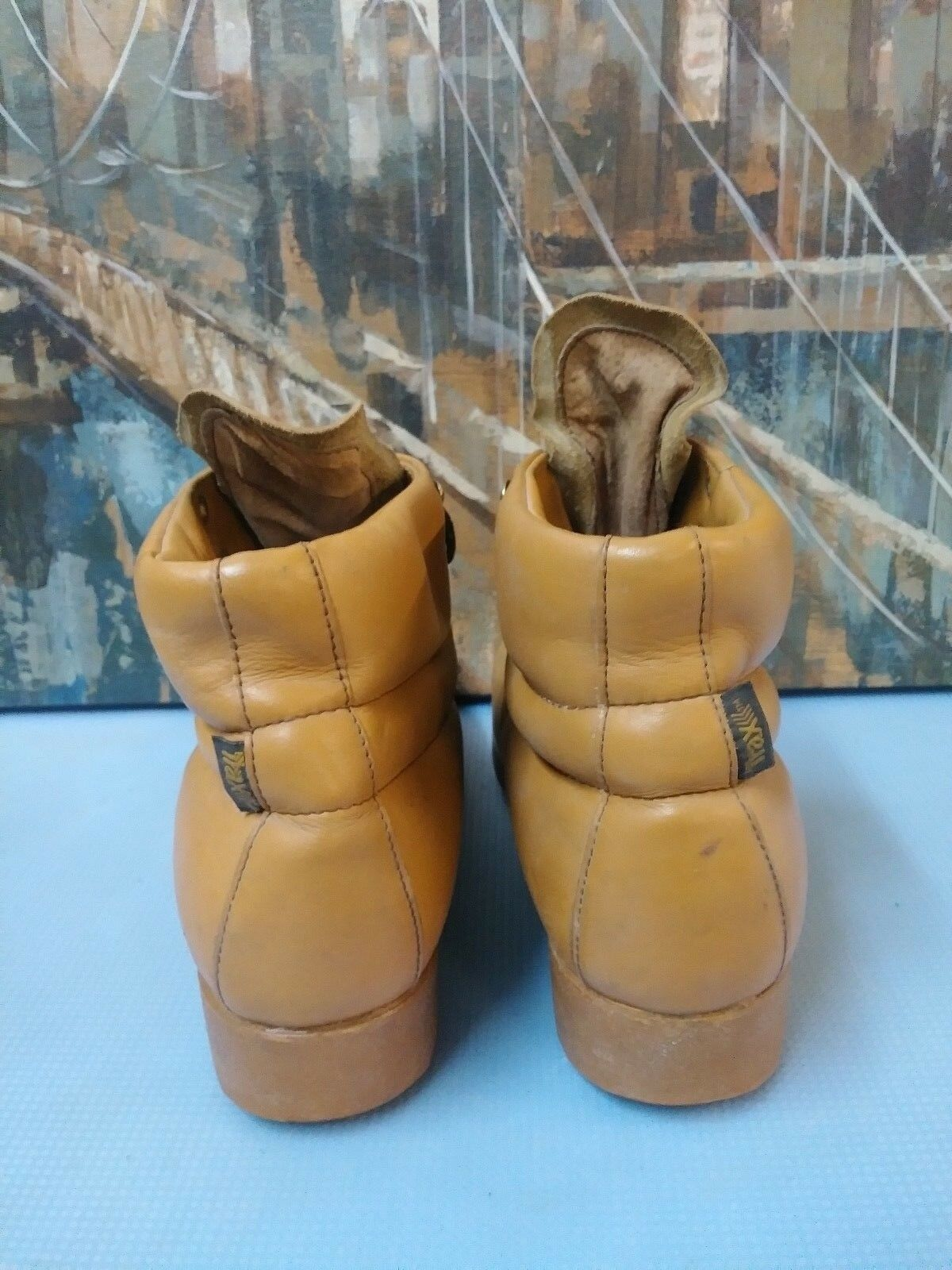 RAX Outdoor Ankle Stivali Style 119 Size 9 Donna 7.5 Uomo Yellow