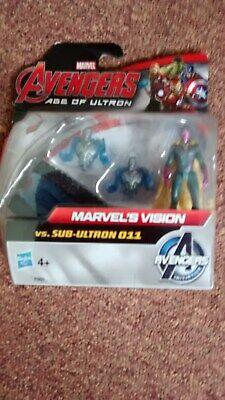 Marvel Avengers Age Of Ultron Marvel's Vision Vs Sub Ultron 011 Action Figure-mostra Il Titolo Originale