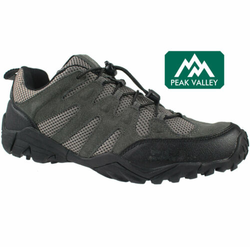 NEW MENS HIKING ANKLE BOOTS OUTDOOR WALKING TREKKING TRAIL TRAINERS SHOES SIZES