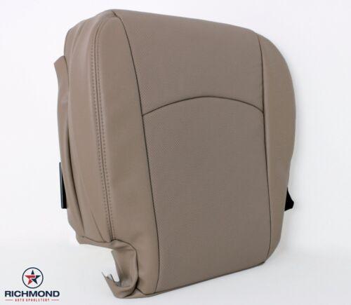 Driver Bottom Leather Seat Cover Tan 09 10 11 12 Ram Laramie 4X4 Diesel HEMI