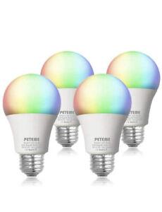 4pack Smart Life Wifi LED Bulb