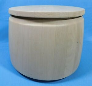 Dansk-Scandinavian-Wood-Staved-Danish-Modern-Covered-Ice-Bucket-Insulated-MCM