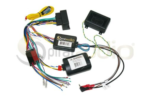 BMW Multi 2002-2015 SWC Wire Harness for Aftermarket Radio Install IX-BW002