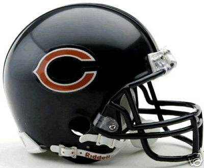 Chicago Bears NFL Football Team Logo Riddell Mini Helmet
