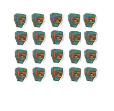 GI Joe Cobra Bat lot of 20 replacement chest stickers precut