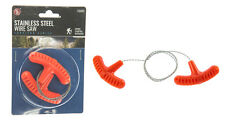 Survivalist Wire Saw Stainless Steel Bug Out Bag Camping Emergency Survival