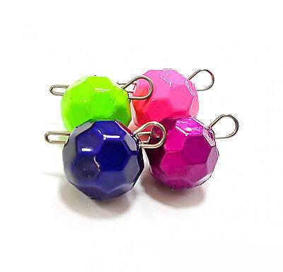 Fanatik gefärbt Führen Jig Biegen Kopfball Cheburashka Unterseite Jig Sinker