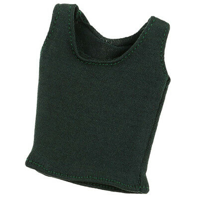 1//6 Scale Female Soldier Slim Vest Weskit Clothing for 12/'/' Figure Green