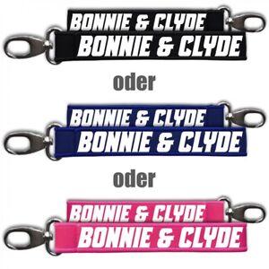 Uhren & Schmuck Ausdauernd Neopren Schlüsselanhänger Schlüsselband Bonnie & Clyde Gangster Mafia Kriminell