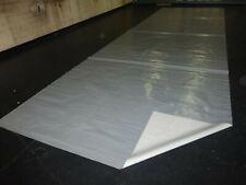 Abdeckplane Lkw Plane PVC Folie 2,50m x 4,60m ca 600g//qm Silber Hellgrau B-Ware