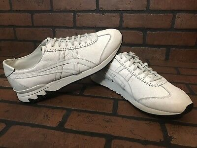 best website c6823 86b34 Onitsuka Tiger MHS Sneakers All White Leather Size 11 | eBay