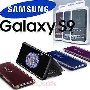 SAMSUNG-Galaxy-S9-SM-G960-Genuina-Cubierta-de-vision-clara-de-pie-EF-ZG960-Nueva-con-caja