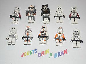 Lego minifig figurine personnage star wars clone trooper choose model kg 64 ebay - Lego star wars personnage ...