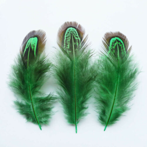 wholesale 20//50//100//500pcs natural pheasant feather 2-4 inches 5-10 cm
