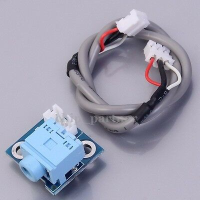 PH2.0-3P Double Plug Wire+Socket Board 3.5mm Audio Input Board For DIY Amplifier