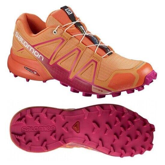 Salomon Speedcross 4 W 37-42.5 Damen Trail Running Outdoor Trekking Schuhe NEU