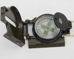 Vietnam-War-US-Army-Military-M-1950-Lensatic-Compass-Outdoor-Hiking-Hunting