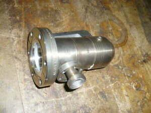 Varian 951-5106 calibrated leak vacuum valve, variable leak