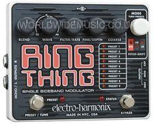 EHX Electro Harmonix RING THING Modulator Guitar Effects Pedal