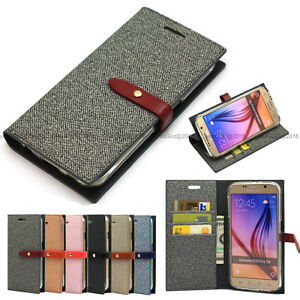 Flip-Leather-Wallet-Case-Cover-Transparent-Silicone-Case-For-iPhone-Galaxy-LG