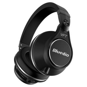 Bluedio-UFO-PLUS-Auriculares-Bluetooth-Estereo-con-12-Altavoces-Big-Bass-Negro