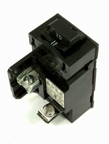 ite p120 pushmatic 20 amp 1 pole circuit breaker ebay Grinder Wiring Diagram