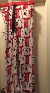 NWT-COCA-COLA-Polar-Bear-Fleece-Pants-Size-XS-Pajamas-Gift-Coke-Womens-Girl