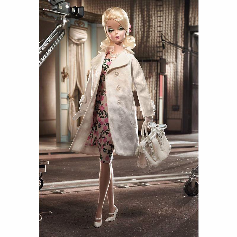 Modelo de moda Colección Hollywood Bound oro Label Barbie Muñeca De Colección