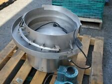 Vibratory Feeder Bowl Stainless Steel 24 Bowl 18 Base 120vac 5amps