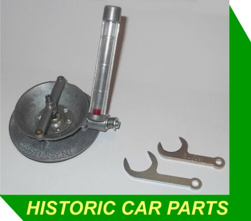TRIUMPH TR4 1961-68 H6 SU Twin Carb AIR FLOW METER /& JET SPANNERS
