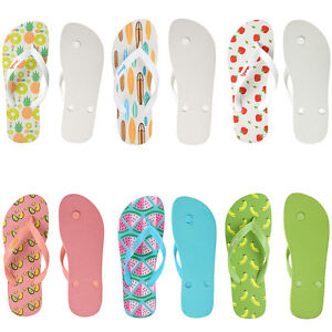 Image Is Loading Women Summer Fruit Bathroom Rubber Slippers Flip Flops