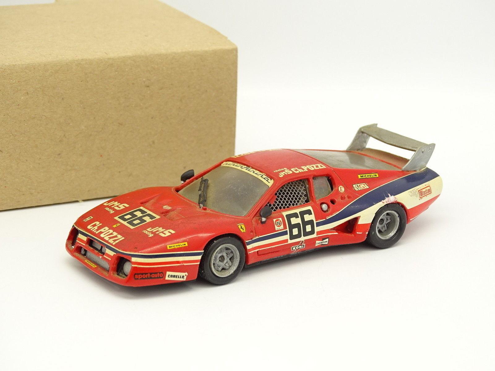 AMR Kit Montado Metal 1 43 - Ferrari 512 BB Pozzi Le Mans 1980 N° 66