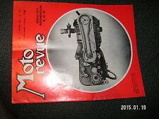 Moto Revue n°1574 Gefi-Kart Championnat Monde Vitesse 1961 Jean Lenoir